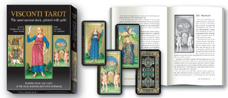 LIBRO + TAROT VISCONTI